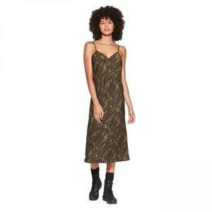 NWT Wild Fable Camo Slip Dress